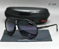2018 Carrera Sunglasse Men Retro Unisex Sunglasses Matte Aviator With Box JX32