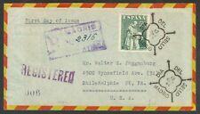 ESPAÑA - AÑO1946 - EDIFIL1004 - DÍA DEL SELLO - SOBRE PRIMER DÍA