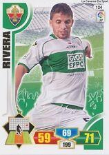 N°124 ALBERTO RIVERA # ESPANA ELCHE.CF CARD PANINI ADRENALYN LIGA 2014