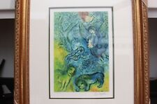 The Magic Flute - Marc Chagall Number Print -  Museum Quality Framing COA