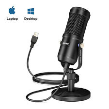 Aokeo USB Condenser Desktop Microphone Professional Mic for PC, Windows, Mac,Etc