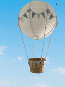 Hot Air Balloon nursery Decoration / Light shade. Can be PERSONALISED