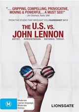 The U.S. vs. John Lennon (DVD, 2009) Documentary Brand New & Sealed R4