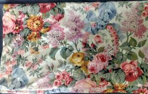 Ralph Lauren Allison King Fitted Sheet Floral Roses