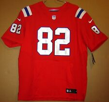 NEW ENGLAND PATRIOTS #82 SULLIVAN RED AUTHENTIC NFL JERSEY