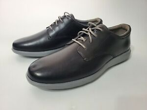 Cole Haan Grand OS Mens Oxfords Shoes Gray Leather Lace Up C28730 Comfort 9M