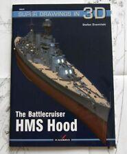 The Battlecruiser HMS HOOD - Super Drawings in 3D - Kagero
