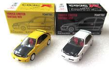 Tomica Limited Vintage Tomytec Honda Civic EK9 Yellow White Set Hong Kong