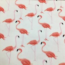 "4pc Kate Spade Pink Flamingo Napkin Set Of 4 Strut Your Stuff 20x20"" NEW [more]"