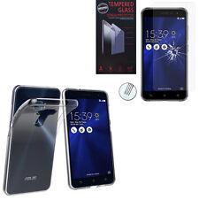 """Housse Coque Gel UltraSlim Asus Zenfone 3 ZE520KL 5.2""""/ Asus Z017D + Film Verre"""
