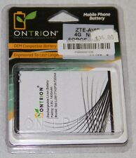 OnTrion Premium Battery, Replacement For OEM ZTE Avid 4G, ZTE Force