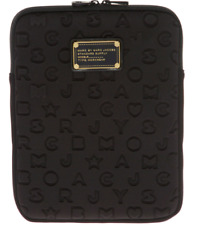 2c35b84c1241 Authentic Marc By MARC JACOBS Black Quilted Neoprene iPad Air Case - Sleeve
