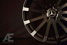 19-inch Matte Black Mercedes Wheels/Rims HR9 5x112