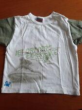 Sanetta Jungen Shirt Weiß Größe 80