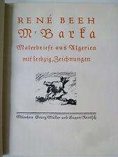 M'Barka, Illustrierte Bücher, Rene Beeh M'Barka, Künstlerbriefe, Kunst,