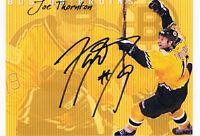 "Joe Thornton genuine autograph signed 6""x8"" photo NHL"