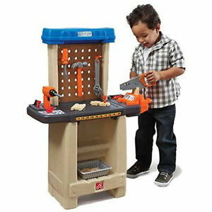 Step2 Plastic Pretend Play Handy Helper's Workbench with Tools and Accessories