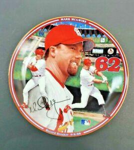 "Mark McGwire ""Homerun Hero"" Record Breaker 9-8-98 - Bradford Exchange Plate"