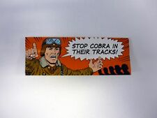 GI JOE STOP COBRA IN THEIR TRACKS ORDER FORM Brochure Booklet COMPLETE 1989