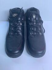 BALLY Women Boots Exedo Leather VTG Lace High Lug Biker Hiking Trail Shoes 8