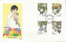 FDC Envelope First Day Great Britain Scott #867-870 Year International Boy 1979