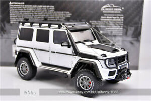 Almost Real 1:18 BRABUS 550 4X4 Benz White