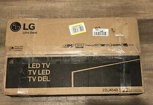 """LG 22LJ4540 22"""" 16:9 Class FHD 1080p IPS LED TV, Black"""