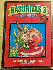 ERROR Basuritas Y Monsters Album W/ Series 3 Promo Cover Argentine Garbage Pail