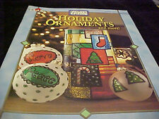 Gallery Glass Holiday Ornaments Book Patterns Instructions