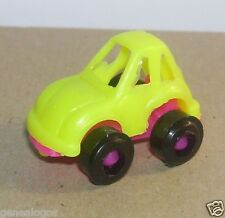 RARE IMPALA 1/120 MADE MEXICO VW COX COCCINELLE JAUNE FLUO PLANCHER ROSE FLUO