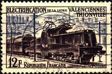 FRANCIA-11 maggio 1955-Elettrificazione della linea Valenciennes