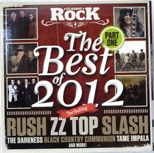 Classic Rock Magazine The Best Of 2012 Part One CD (CD 2012) Rush/ Slash/ ZZ Top