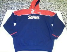 New England Patriots Hoodie L Football Red White Blue NFL Team Apparel