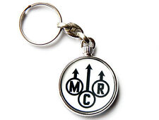 More details for my chemical romance american rock band chrome keyring picture both sides