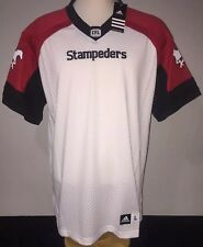 Adidas CALGARY STAMPEDERS Away CFL Official Licensed Mens Jersey L