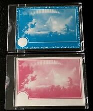 1982 Topps Vault E.T. The Extraterrestrial 2 Card Proof Set #2 ET Blank Back
