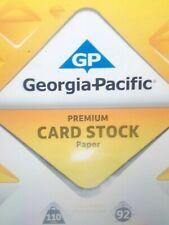 110lb. White Card Stock 25 Sheets!! **Free Shipping**