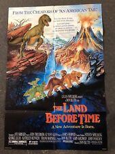 Affiche de Cinema Vintage -LE PETIT DINOSAURE - G. Lucas S. Spielberg