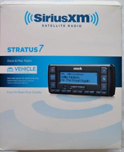SiriusXM Stratus 7 Satellite Radio Model SSV7V1 Complete Auto System w/ XPRESS