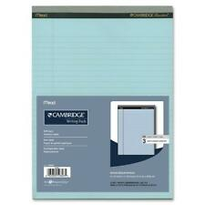 Cambridge Writing Pads, Blue, Letter, Stiff Back, 3 Pack, 8.5