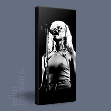 BLONDIE DEBBIE HARRY SINGING ICONIC CANVAS ART PRINT PICTURE UPGRADE to 120x56cm