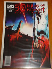 THIRTY 30 DAYS OF NIGHT AGAIN #2 VARIANT RI COVER IDW