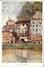 Salzburg Österreich AK ~1920/30 Partie Im Stein Gemälde Compton Künstlerkarte