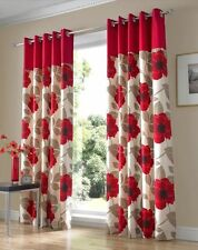 Floral 100% Cotton Contemporary Curtains & Pelmets