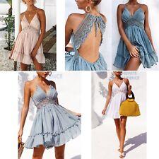 Vestito Donna Copricostume Abito - Woman Cover up Mini Dress COV0059 P