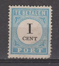 A1P3 Port nr.3 tanding A type 1 used NVPH Nederland Netherlands due portzegel