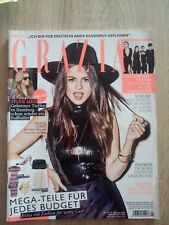 SELENA GOMEZ  cover,  magazine GRAZIA october   2015. Germany