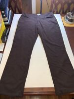 Peter Millar Mens Corduroy Chino Pants Size 38 x 32 Brown - Excellent Condition