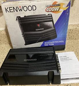 Kenwood KAC- 5206 amplifier 400W
