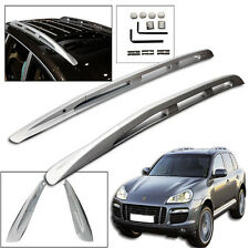 St New Top Side Roof Rack For 2008-2010 Porsche Cayenne Aluminum Rail Mount SUV